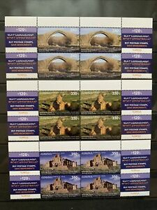 Armenia 2020 MNH Stamp Set Charity Save Historical Cultural Monuments B4