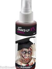 Halloween sanguinoso sanguinoso Zombie FAKE Spray Sangue POMPA azione NEBULIZZATORE FANCY DRESS