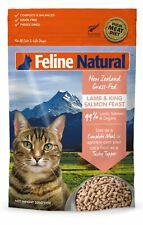 Feline Natural Grain Free Cat Food - Lamb & King Salmon 320g