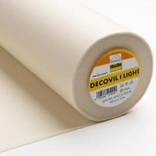 1 metre x 90 cm wide Decovil Light Vilene Vlieseline Fusible Interfacing Fabric
