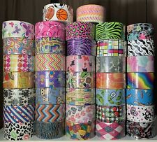 Lot of 6 Rolls of Random Duck Brand Duct Tape (Damaged Packaging) Duck Tape Roll