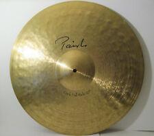 """1 Paiste 20"""" Signature HTF Dark Full Ride Cymbal 2597g Switzerland w/Carry Bag !"""