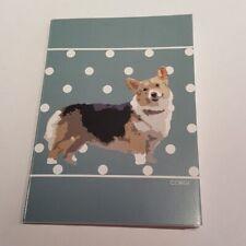CORGI A6 NOTEBOOK / NOTEPAD / JOTTER-NICE LITTLE GIFT FOR DOG LOVER
