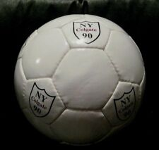 Soccer Ball Colgate University New York White 1990 Hand Stitched New Buy Now