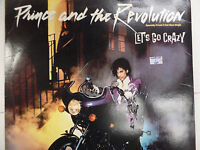 Prince and the Revolution 2-Cut Maxi Single Let's Go Crazy 33RPM 053016 TLJ