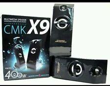 CASSE PC CMK X9 ALTOPARLANTI PER PC NOTEBOOK LAPTOP 5W USB VOLUME REGOLABILE ...