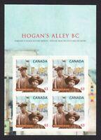 BLACK HISTORY = HOGAN'S VALLEY, VANCOUVER, BC = Canada 2014 #2703 MNH Bklt Page