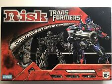 Risk Transformers Board Game: Cybertron Battle Edition Parker Bros. 2007