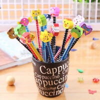 10Pcs/Set random Animal Pencil Kids School Learning Supplies Stationery Penci JC