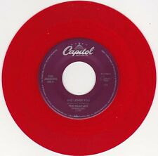 "THE BEATLES - She Loves You ( red vinyl) 7"" 45"