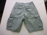 118 MENS EX-COND BILLABONG RELAXED DK OLIVE CARGO SHORTS SZE 30 $90 RRP.