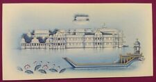 Hand Painted Udaipur Lake Palace Fine Miniature Painting Indian detail Art Work