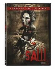 SAW COMPLETE MOVIE COLLECTION 7 FILMS UNRATED 4 DISC SET DVD R1