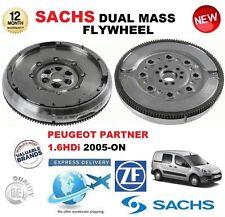 für Peugeot Partner 1.6 HDI 90+16V ab 2005 SACHS DMF ZweiMassenSchwungrad &
