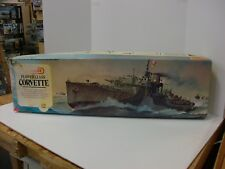 Matchbox 1979 Flower Class Corvette 1/72 Scale Model Kit