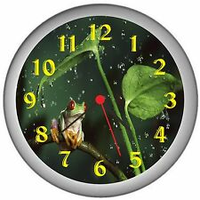 Frog Room Decor Wall Clock