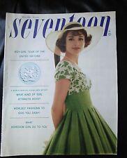 Seventeen magazine March 1959