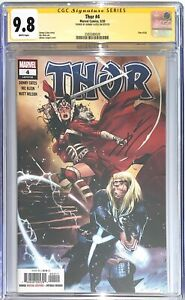 THOR #4 CGC 9.8 Signed By Donny Cates