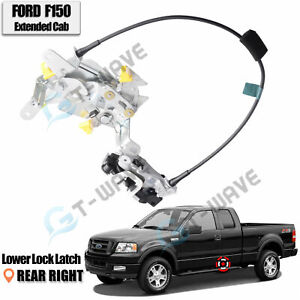 Rear Right Side Lower Door Lock Latch fits 97-03 Ford F-150 Extended Super Cab