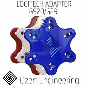 Logitech G920 G29 G27 G923 70mm Steering Wheel Adapter HIGH STRENGTH SIM RACING