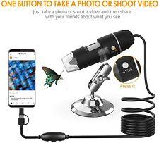 USB Microscope Splaks 1000x High Power USB Digital Microscope 3 in 1 PCB Micr...