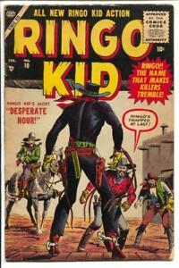 Ringo Kid #10 1956-Marvel-John Severin cover art-P