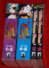 Venus Versus Virus complete manga book lot Atsushi Suzumi vol 1,2,3,4,5,6,7,8