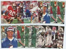 1996 Fleer HOFs & Stars 31 Card Lot Inc. Rice, Young, Galloway, Shuler, Davis