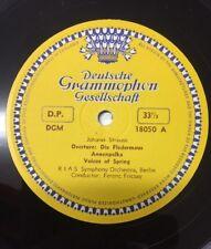 Johann Strauss Ferenc Fricsay RIAS Symphony Orchestra Berlin Deutsche Tulip LP