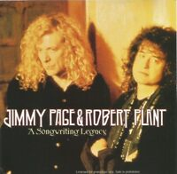 Jimmy Page & Robert Plant (Led Zeppelin) - A Songwriting Legacy USA promo CD