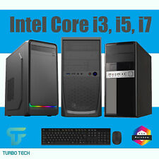 ULTRA FAST i3 i5 i7 FORTNITE CUSTOM GAMING COMPUTER PC 8GB 1TB HDD WIN 10 WIFI