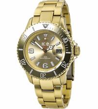 Ice Watch Uhr Ice-Alu Farbe Gold Unisex AL.GD.U.A.12 Aluminium leicht