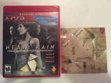 Heavy Rain - Director's Cut (Sony PlayStation 3, 2011) Complete in Case