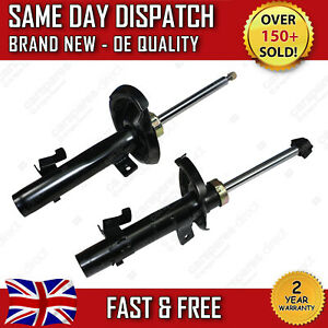 FORD FOCUS MK2 2004>2012 FRONT LEFT & RIGHT SHOCK ABSORBERS PAIR