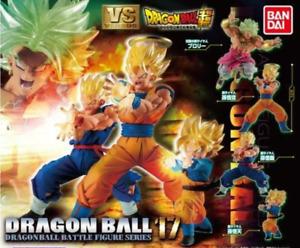 BANDAI DRAGON BALL Z Super VS Series 17 All 4 type set Japan NEW Anime Manga