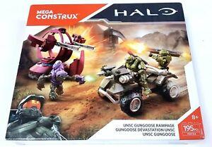 new Mega Construx 2016 Halo UNSC Gungoose Rampage set FDY54 Spartan Rogue Recon