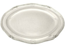 George III English Sterling Silver Meat Platter by Paul Storr Width 41.7cm 3795g