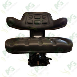 High Quality tractor Suspension Seat, suits MF, Ford, IH, DB.