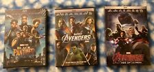 Marvel's: The Avengers / Avengers: Age of Ultron / Black Panther 3-DVD Set