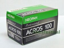 3 rolls FUJI NEOPAN ACROS 100 B&W Film 35mm 36exp 135-36 FREESHIP
