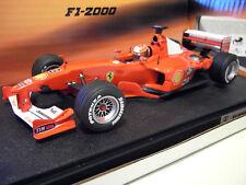 F1 FERRARI F2000 3 SCHUMACHER 1/18 HOT WHEELS MATTEL formule 1 voiture miniature