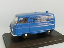 "MODIFIED MORRIS J2 VAN ""CASKET & COFFIN MANUFACTURERS "" in  display case"