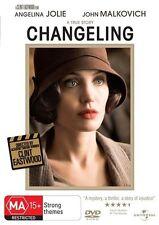 CHANGELING (DVD, 2009) LIKE NEW- ANGELINA JOLIE, JOHN MALKOVICH -CLINT EASTWOOD
