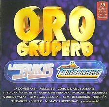 Los Bukis y Los Temerarios  Oro Grupero 20 Exitos de Sus Artistas CD New Nuevo
