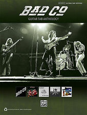 BAD COMPANY GUITAR TAB ANTHOLOGY SHEET MUSIC SONG BOOK NEW