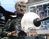 DAVID GOODERSON as Davros - Doctor Who GENUINE AUTOGRAPH UACC (Ref:7028)