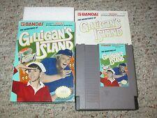 Adventures of Gilligan's Island (Nintendo NES, 1990) Complete in Box FAIR