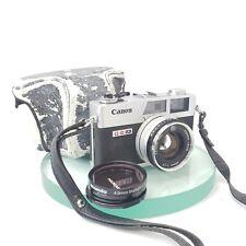 ++Canon Canonet QL-17 G-III 35mm Rangefinder Film Camera TESTED Near mint #556
