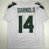 New SAM DARNOLD New York 2019 White Custom Stitched Football Jersey Size Mens XL