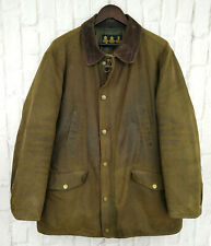 Barbour Martindale Waxed Jacket Brown Wax Cotton Size Large
